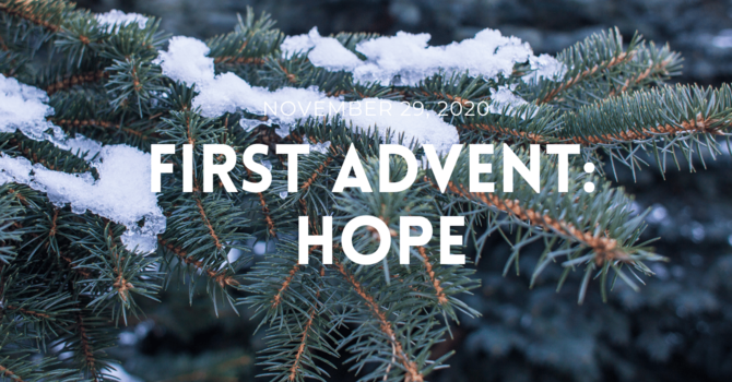 First Advent: Hope