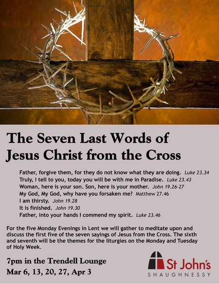 The Seven Last Words of  Jesus from the Cross