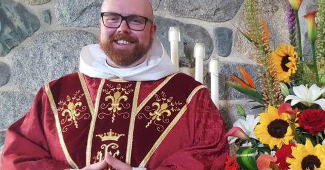 Our Vicar Alex, is staying! image