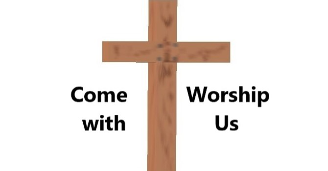 Worship Service Bulletin - Joint Service image