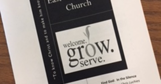 July 15, 2018 Church Bulletin image