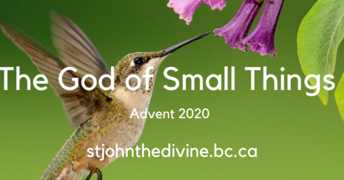 God of Small Things - Day One - Advent Sunday (Advent I)