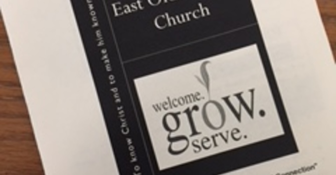 September 2, 2018 Church Bulletin  image