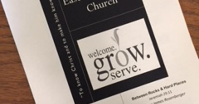 July 22, 2018 Church Bulletin image