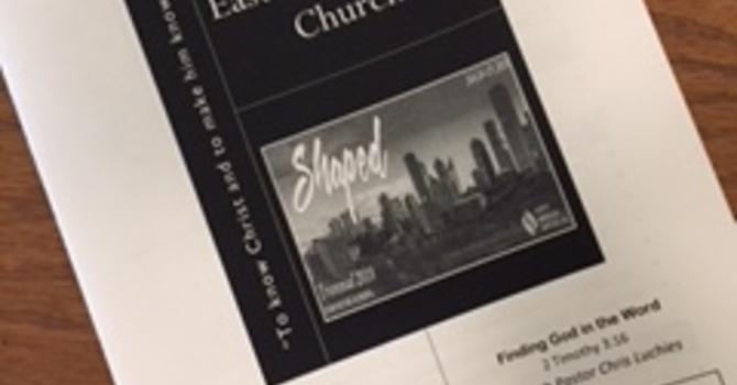 July 29, 2018 Church Bulletin image