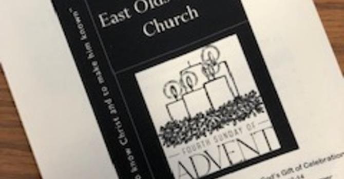 December 23, 2018 Church Bulletin image