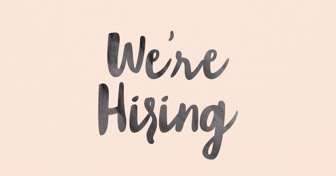 We're Hiring- Youth Ministries Intern image