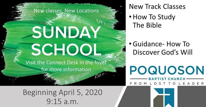 Survey For New Sunday School Classes image