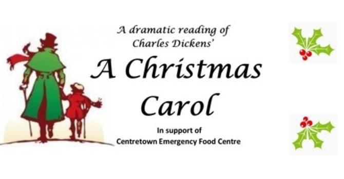 """A  Christmas Carol"" for the Food Centre image"