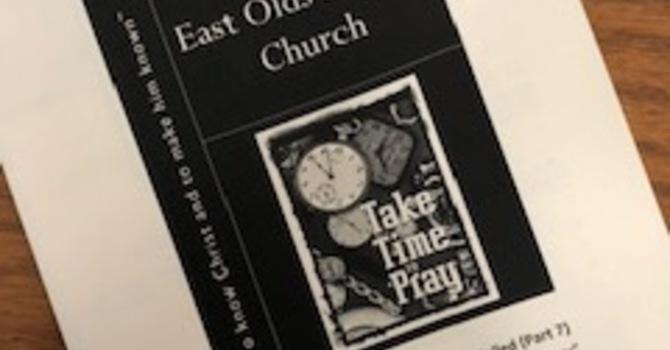 October 27, 2019 Church Bulletin image