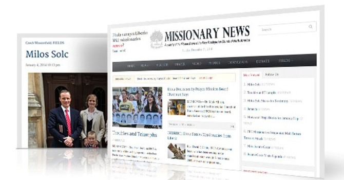 Missionary News Update. image