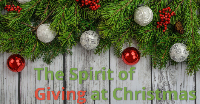 The Spirit of Giving at Christmas image