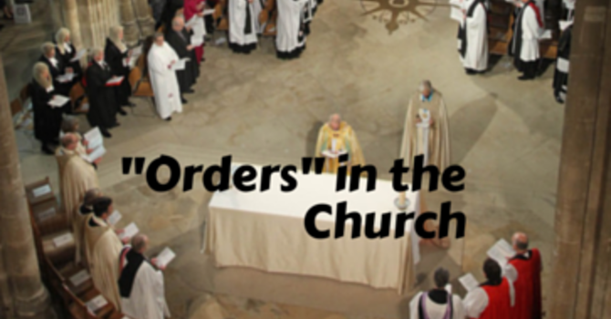 """""""Orders"""" in the Church image"""