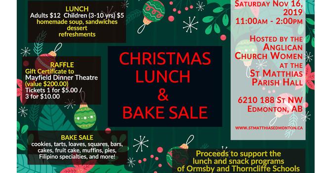 St. Matthias Christmas Lunch & Bake Sale