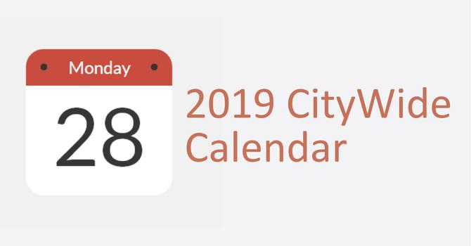 2019 Calendar image