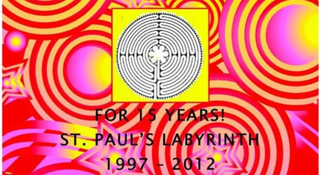 Celebrating 15 Years of St. Paul's Labyrinth image
