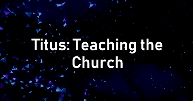 Teaching In The Church Community