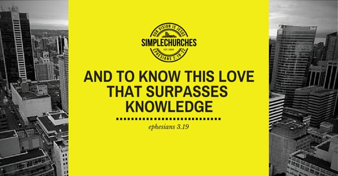 A Love that Surpasses Knowledge image