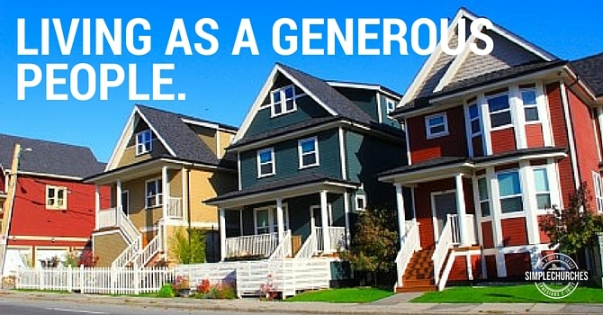 Living as a Generous People image