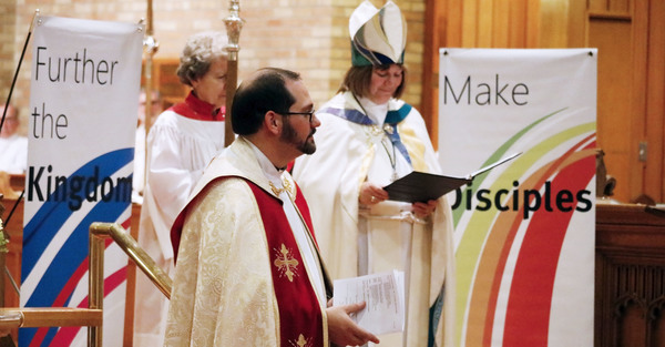 Scott Sharman Installed Canon Theologian in Mission