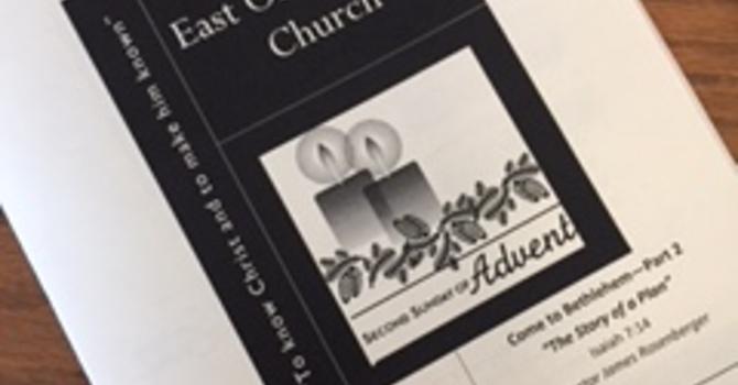 December 10, 2017 Church Bulletin image
