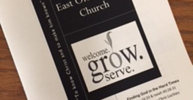August 19, 2018 Church Bulletin image