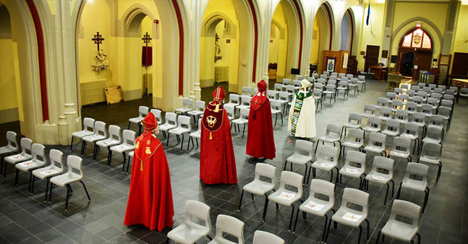 Bishops elected, consecrated, while archbishop remains at home in N.B. image