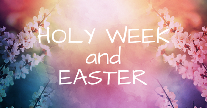 Holy Week and Easter at United Churches of Langley image