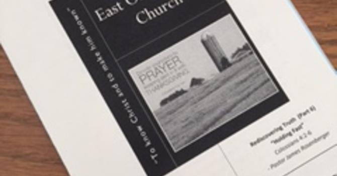 February 19, 2017 Church Bulletin image
