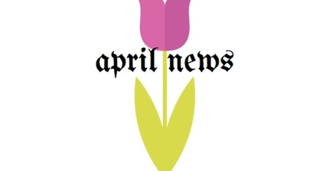 APRIL NEWS image