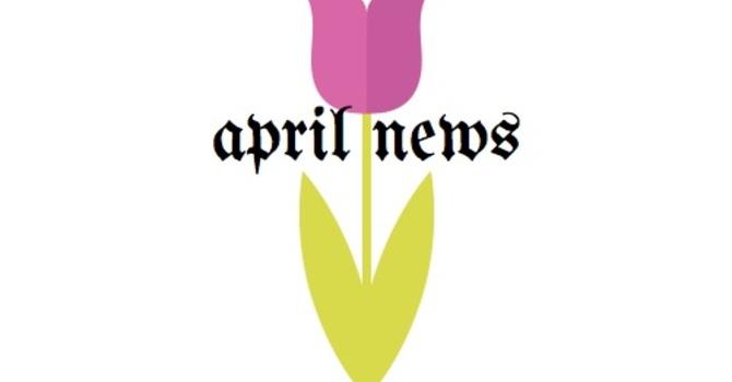 APRIL NEWS image