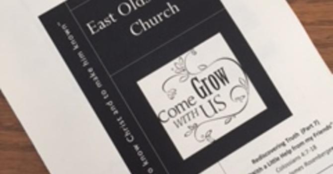March 19, 2017 Church Bulletin image