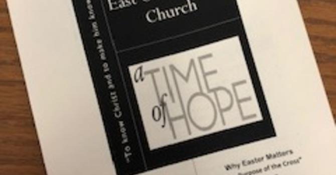 April 7, 2019 Church Bulletin image