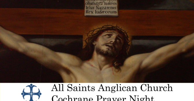 Cochrane Prayer Night May 13