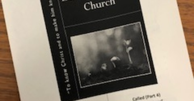 October 6, 2019 Church Bulletin image