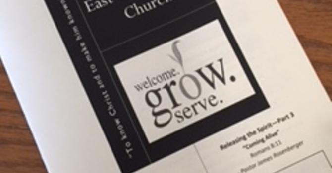 April 29, 2018 Church Bulletin image