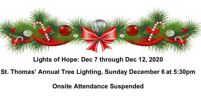 St. Thomas', Vancouver Christmas Tree Lighting