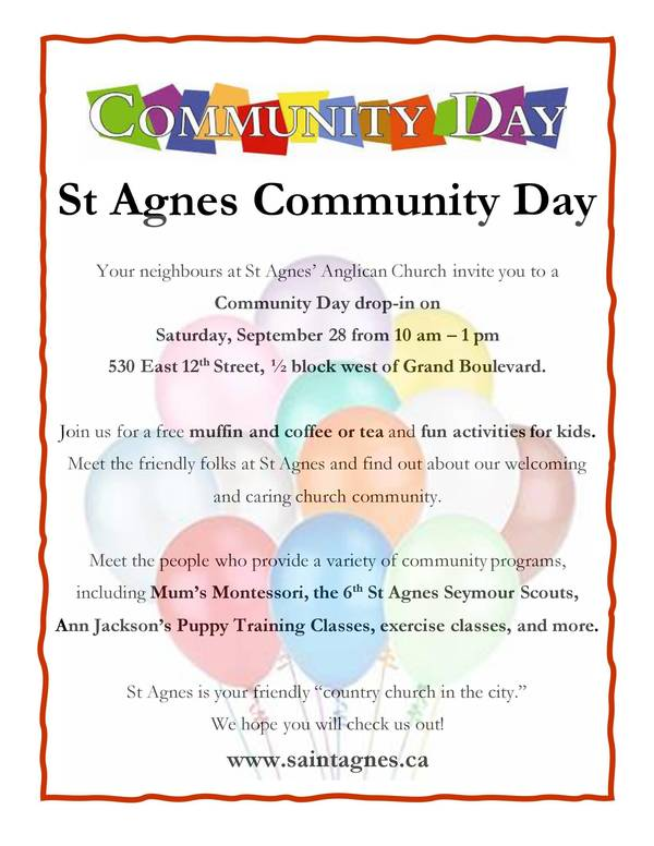 St Agnes Community Day