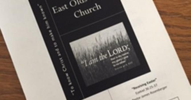 April 30, 2017 Church Bulletin image