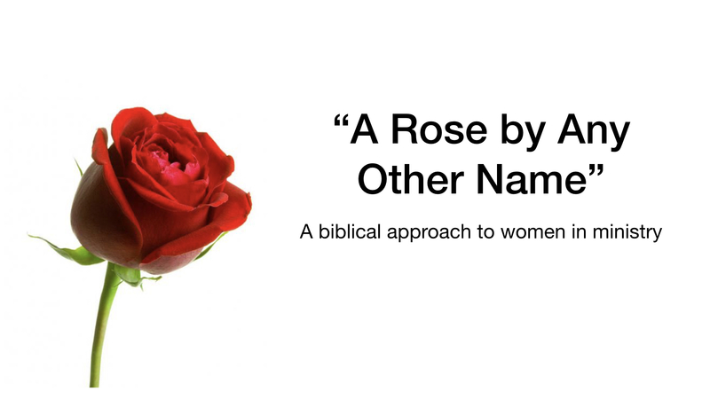 A Rose, by any other name...