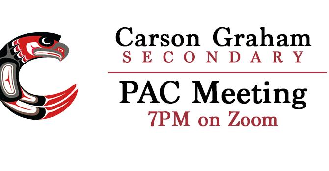 Carson Graham PAC Meetings
