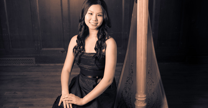 Joy Yeh - Guest Harpist for Christmas Morning 11am image