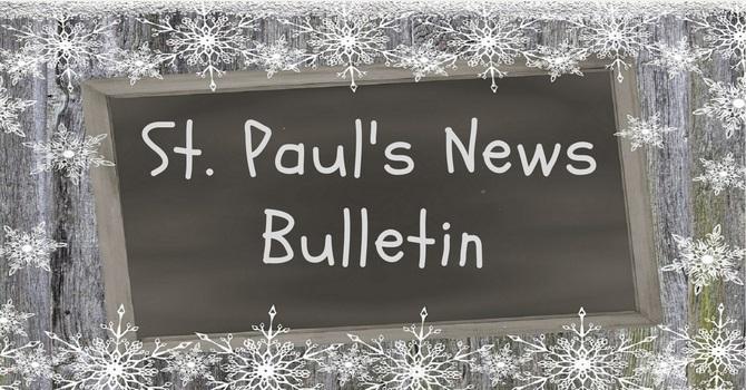 St. Paul's February 10th  News Bulletin image