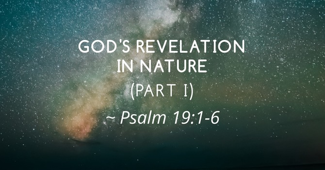 God's Revelation in Nature