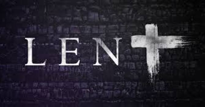 Lent: 'Time In' for the Journey