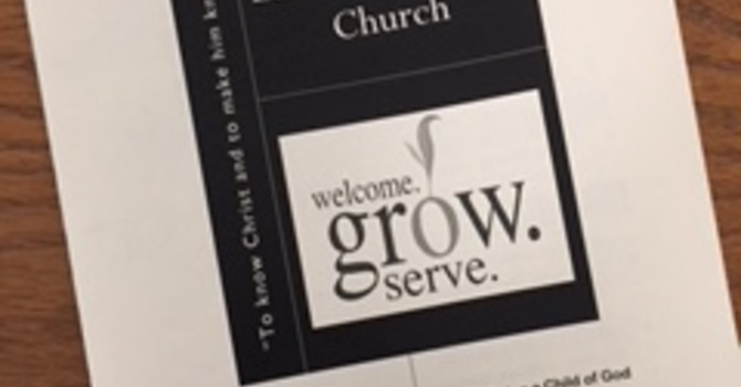August 5, 2018 Church Bulletin image