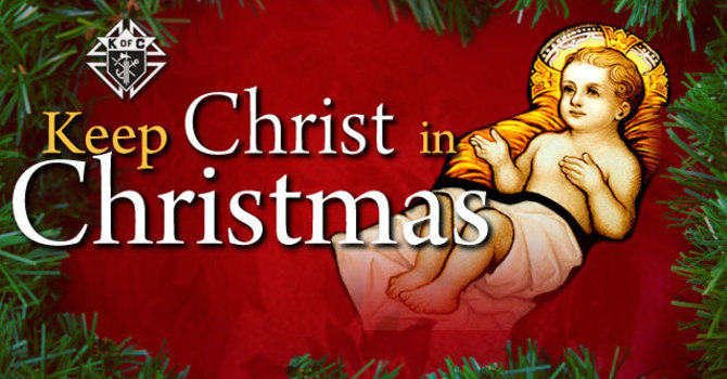 Keep Christ in Christmas - Coloring Contest image