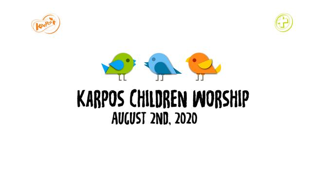 200802 Elementary Sunday Worship