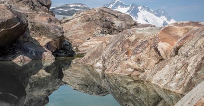 PRISTINE ALPINE WILDERNESS inspires crowd at presentation image