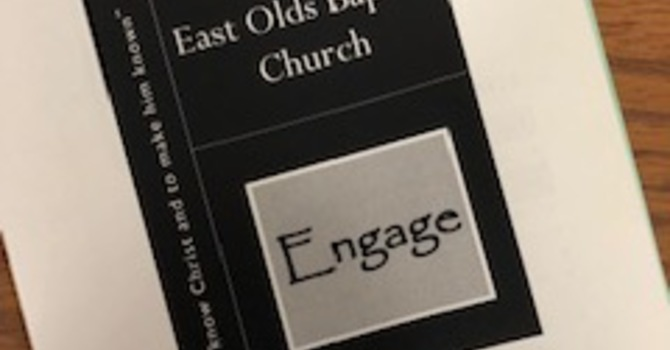 Church Bulletin for October 28, 2018 image